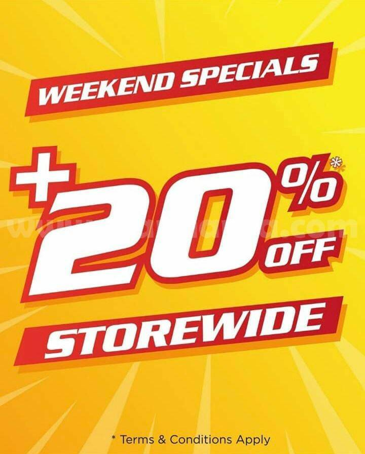 Promo SPORTS STATION WEEKEND SPECIAL! Save Cash Rp 100.000 #Storewide
