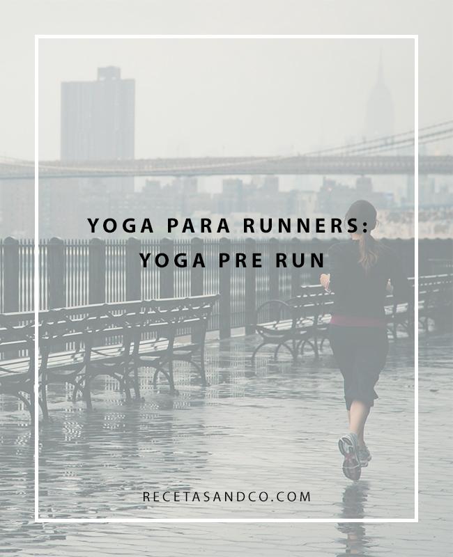 Yoga para antes de salir a correr