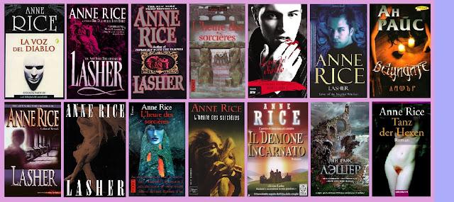 portadas de la novela de fantasía La voz del diablo, de Anne Rice