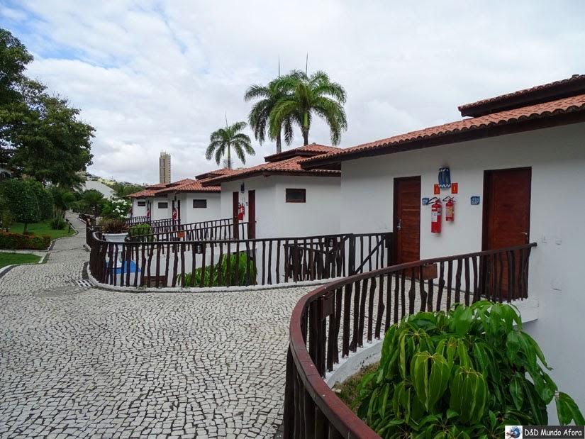 Chalés D Beach Resort em Natal