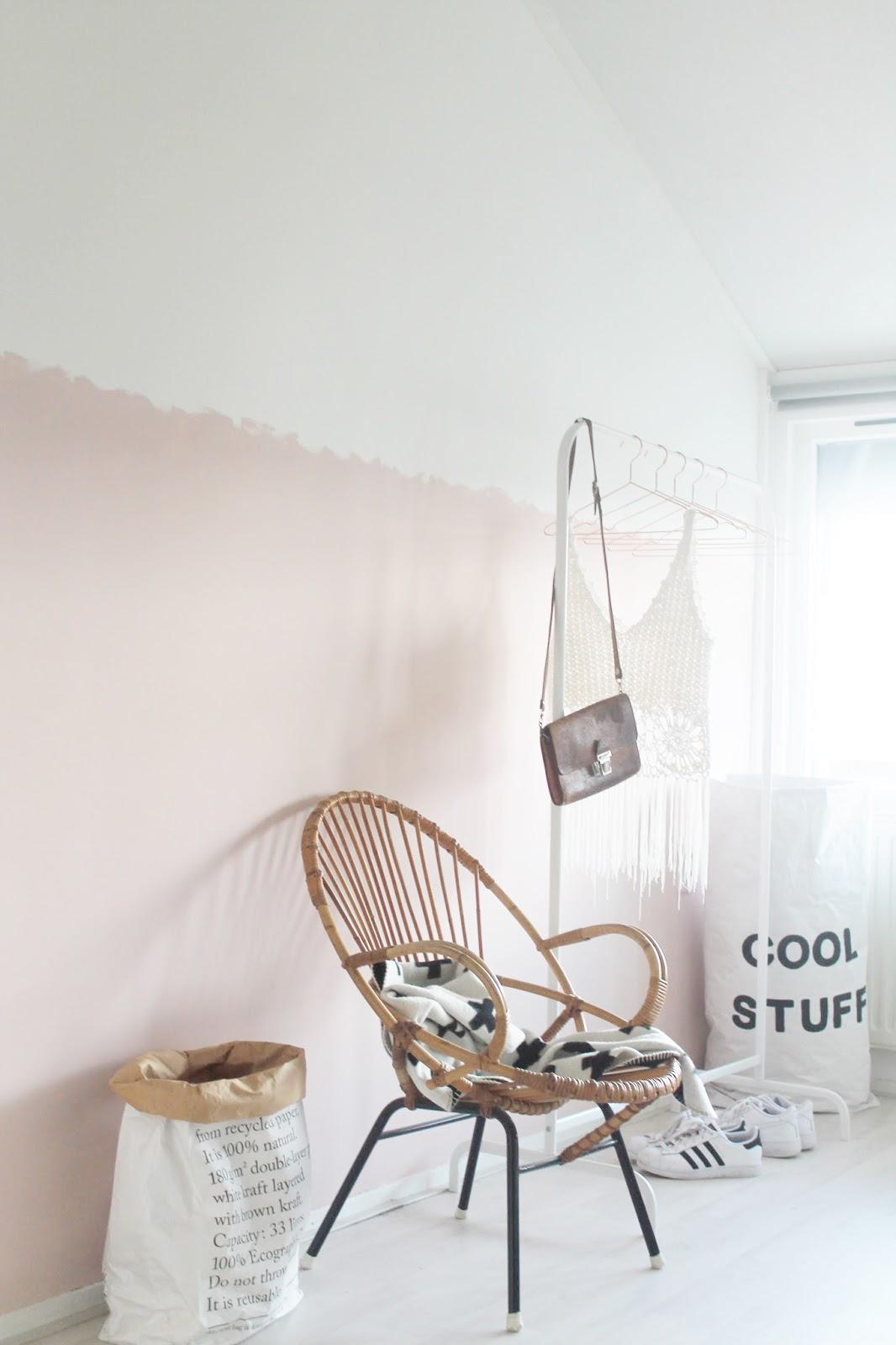 Missjettle : roze nonchalante lambrisering