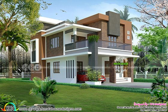 2380 square feet, 3 bedroom modern home