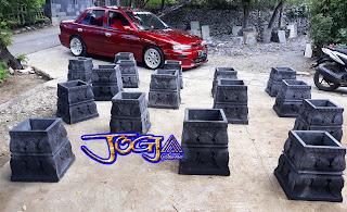 umpak belah / umpak tempel batu candi cocok untuk tiang-tiang yang sudah terpasang, bagus untuk tiang rumah joglo, rumah limasan, gazebo, tiang lampu pinggi jalan dan lain-lain.