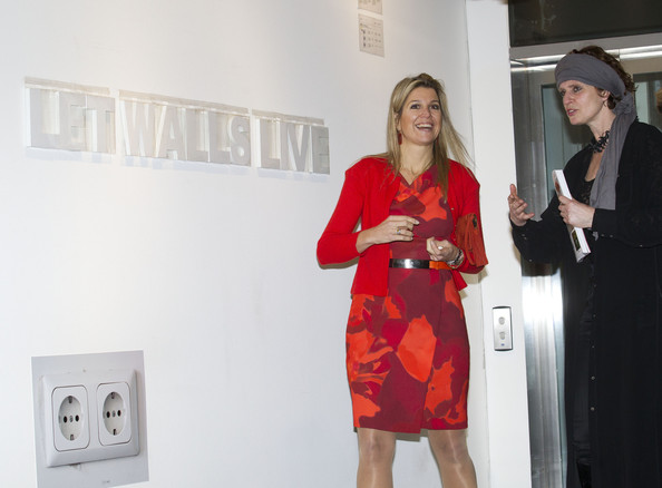 Crown Princess Maxima and Ine Gevers open the 'Yes Naturally' art manifestation