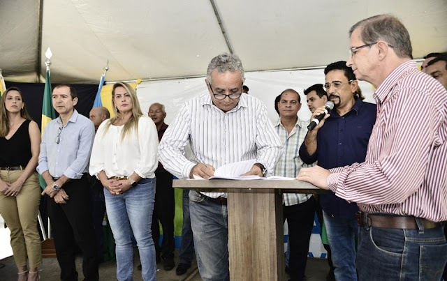 Senador Canedo: Prefeito anuncia pacote de obras públicas para a cidade