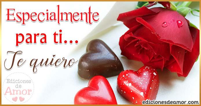 Rosa roja para amor