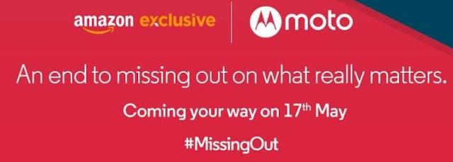 Motorola Moto G to Launch on Amazon on 17th May