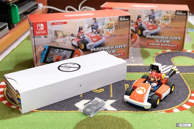 【遊戲】任天堂 AR 競速玩起來《瑪利歐賽車實況:家庭賽車場》 - 《瑪利歐賽車實況:家庭賽車場》盒裝內容物並不複雜