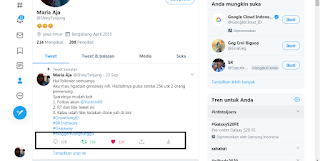 Akun Twitter @ShinyTanjung