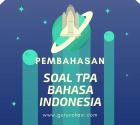 soal tpa bahasa indonesia