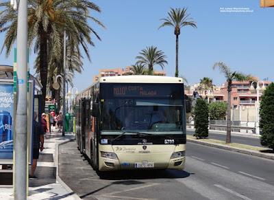 Tata Hispano Intea, Consorcio de Transporte Metropolitano del Área de Málaga
