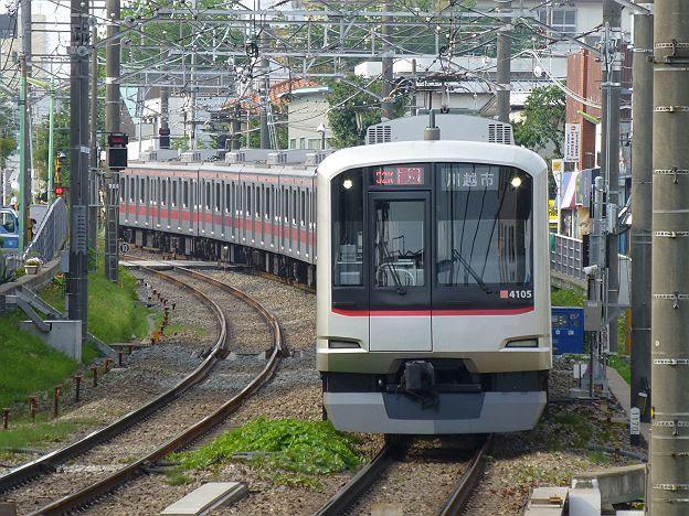 東急東横線 通勤特急 川越市行き 5050系