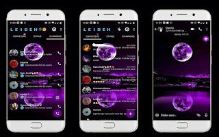 Moon 3 Theme For YOWhatsApp & Fouad WhatsApp By Leidiane