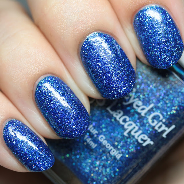 Blue-Eyed Girl Lacquer Deep Blue Dream