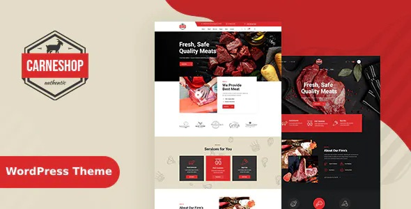 Best Butcher & Meat Shop WordPress Theme