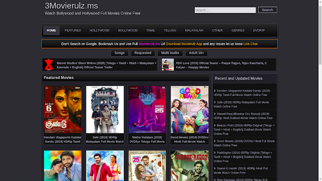 Movierulz Latest Movies Download In Hindi, Tamil.