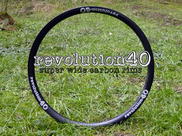 Revolution40 Carbon Rims