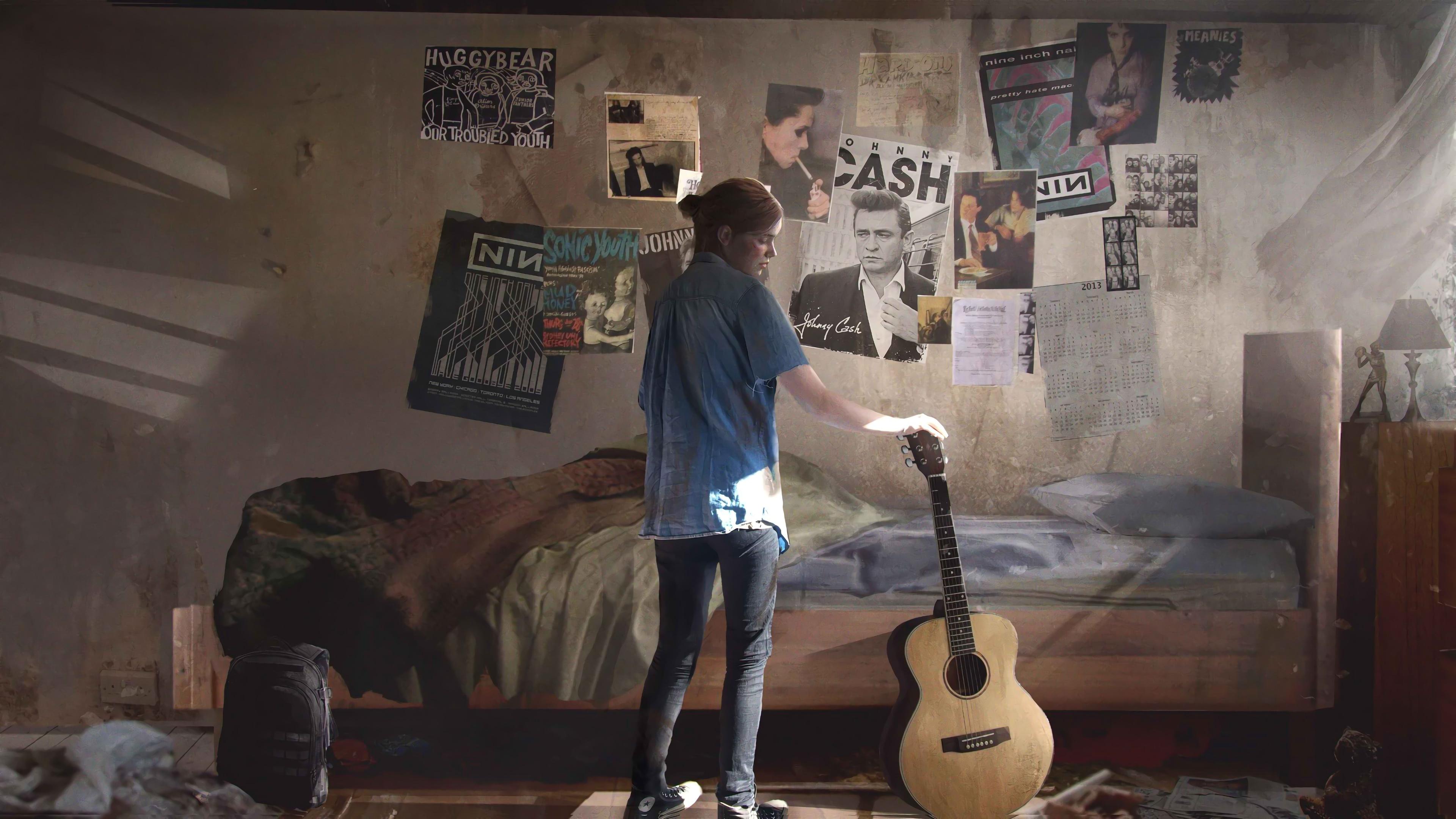 The Last Of Us Part 2 Ellie Guitar 4k Wallpaper 13