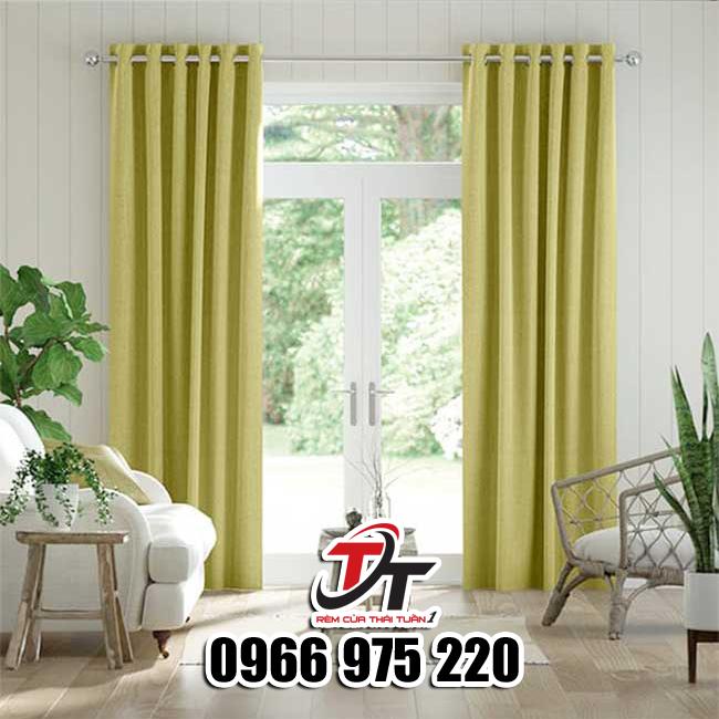 Rèm vải đẹp cho căn hộ chung cư hiện đại giá rẻ