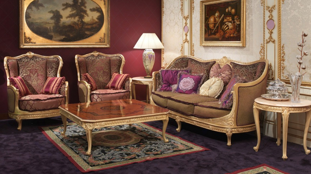 A victorian style touches to your classic design living room - Victorian style living room ...