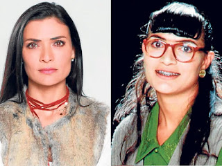 before after betty la fea