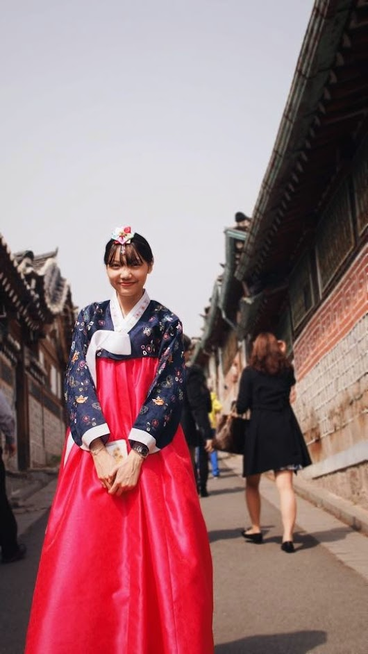 Outing with Oneday Hanbok at Bukchon Hanok Village.
