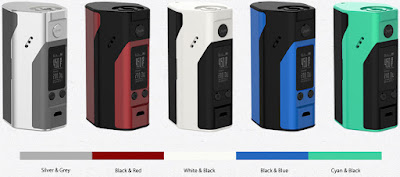 Wismec RX200S Own 5 Colors For Option Now !