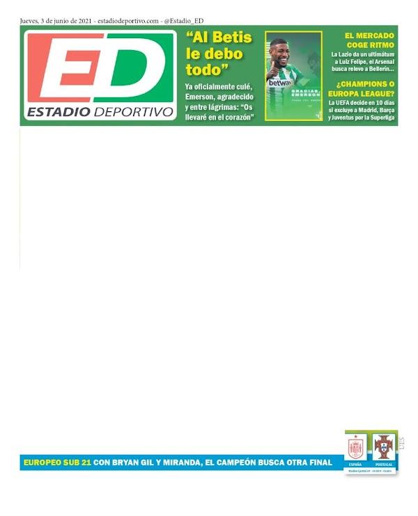 """Estadio Deportivo: """"Al Betis le debo todo"""""""