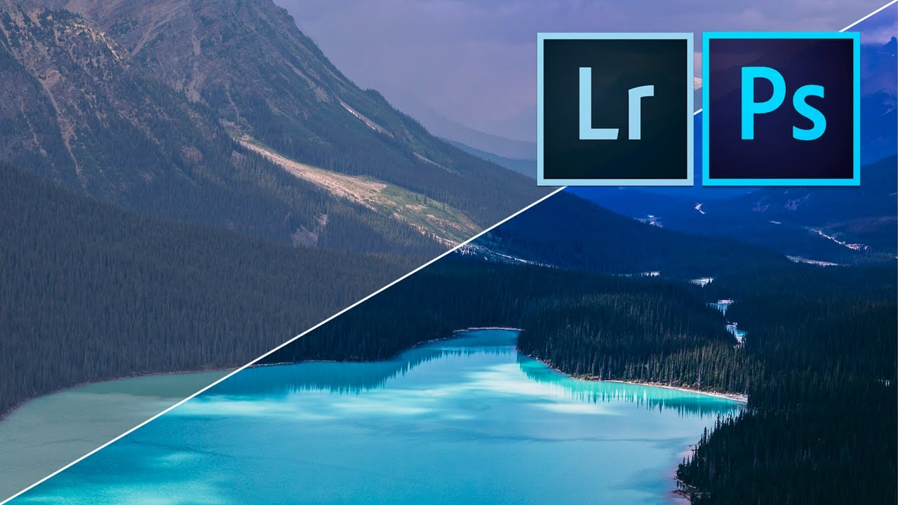 How to edit INCREDIBLE LANDSCAPE PHOTOS with Adobe Lightroom Photoshop