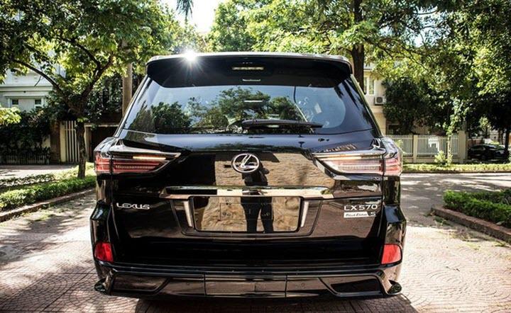 Lexus LX 570 Super Sport Black Edition đầu tiên về Việt Nam