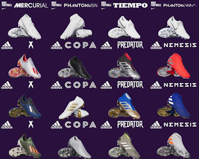 PES 2020 New Bootpack V2.0 by Ziyech