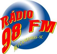 Ouvir a Rádio 98 FM 98,1 de Canoinhas SC Ao Vivo e Online