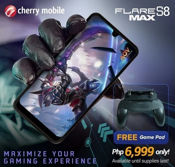 Cherry Mobile Flare S8 Max Now Avail for Only Php6,999 with FREE GamePad!