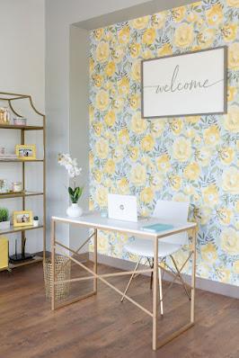 At Last Wedding Studio welcome area