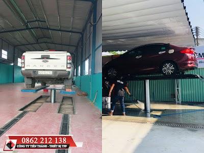 Cầu nâng 1 trụ thủy lực là gì – Cấu tạo và nguyên lý hoạt động của ben nâng rửa xe