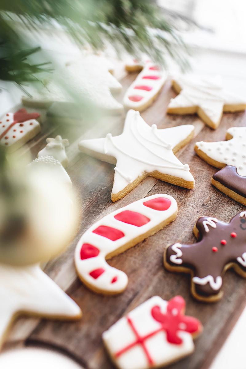 Christmas Sugar Cookies Smudge