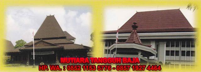 Agen Distributor Genteng Metal Multi Roof Termurah Se-Jabodetabek