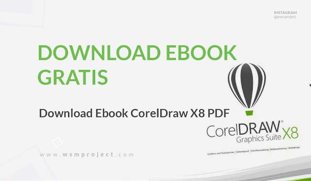 Download PDF, Tutorial CorelDraw X8 Pemula