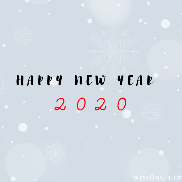 for happy new year wishes