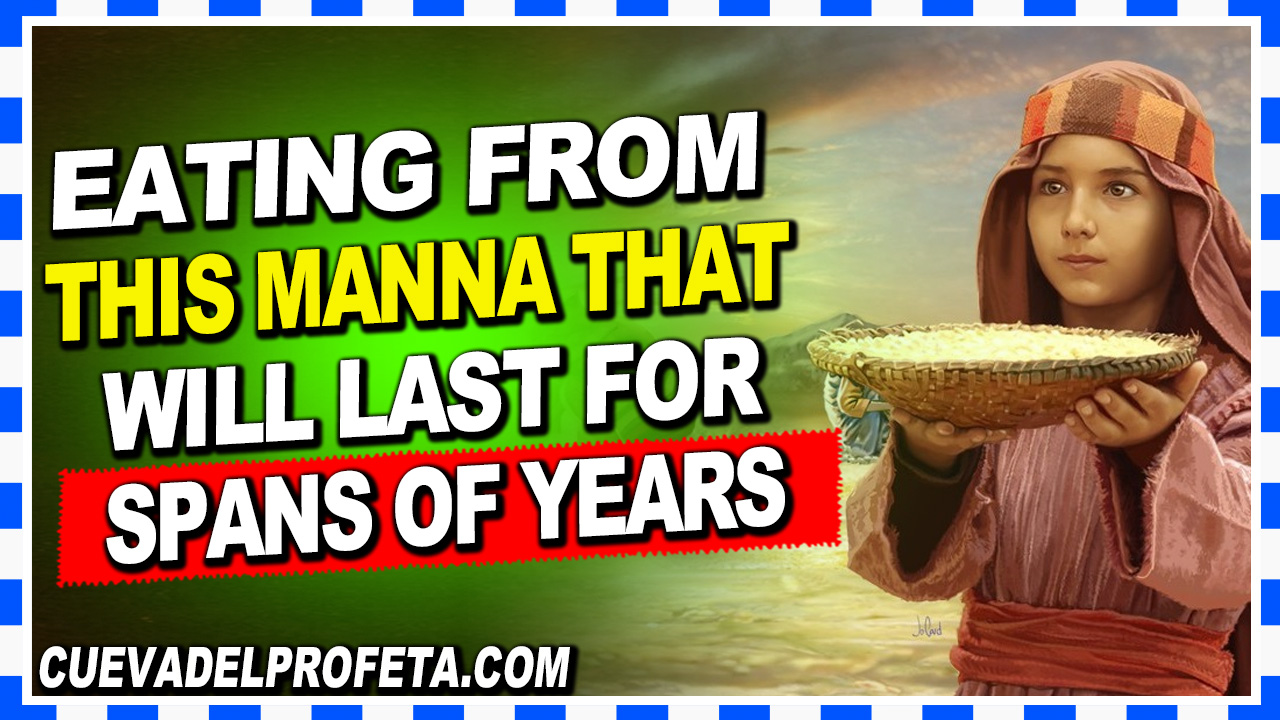 Eating from this manna that will last for spans of years - William Marrion Branham
