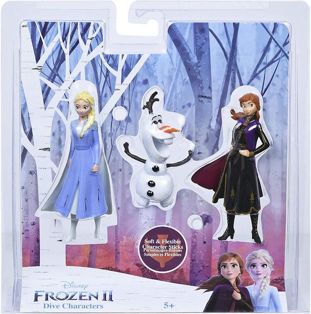 Frozen 2 Dive Toys
