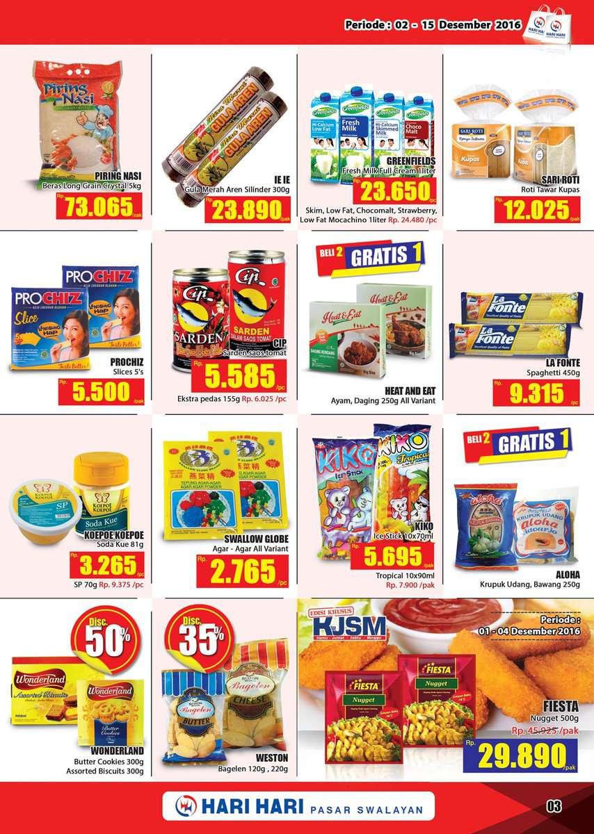 Katalog Promo Hari Hari Swalayan 2 - 15 Juni 2017