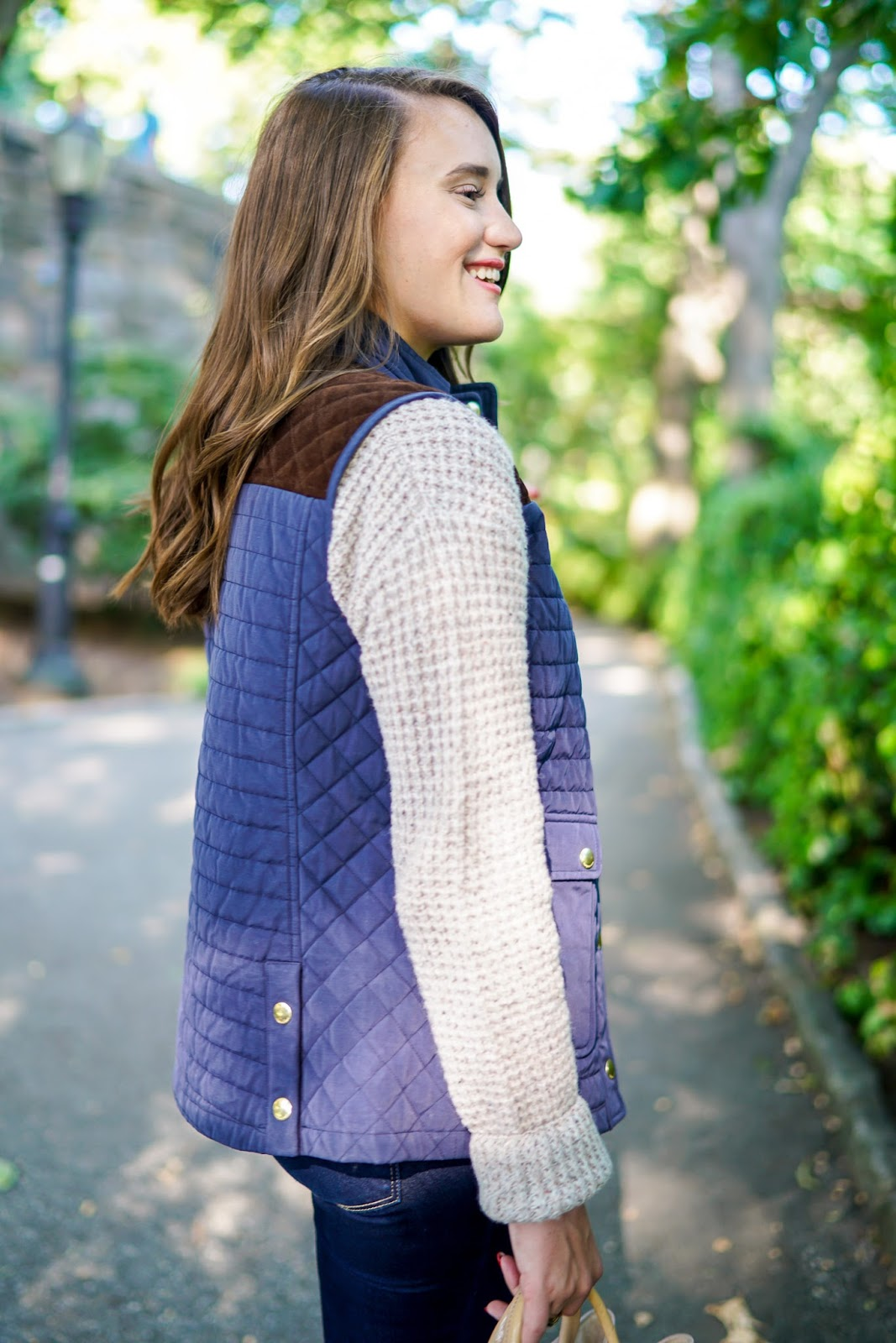 Vineyard Vines Quilted Yoke Vest