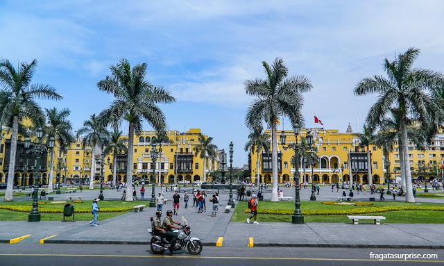 Plaza Mayor, Centro Histórico de Lima, Peru