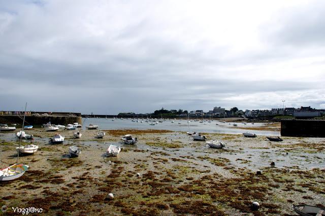 La bassa marea su Roscoff