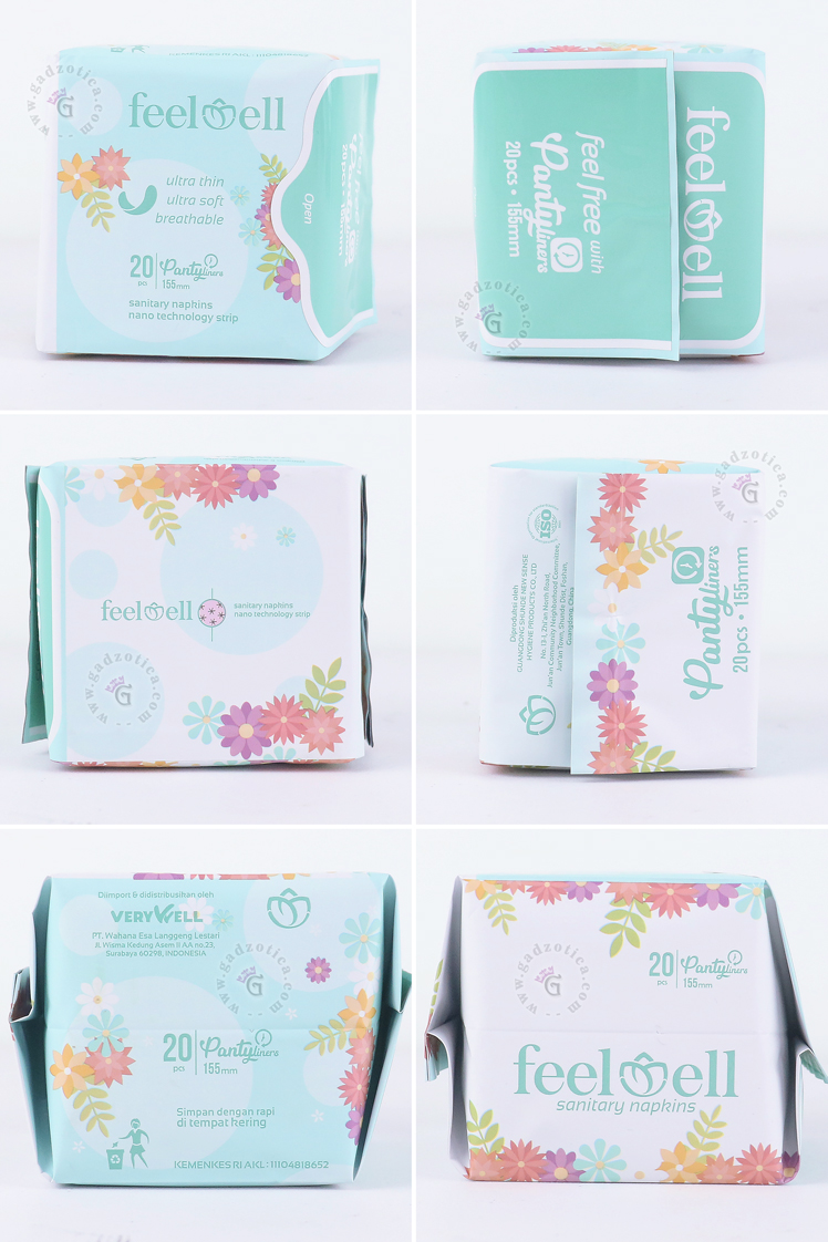 Review FeelWell Panty Liner