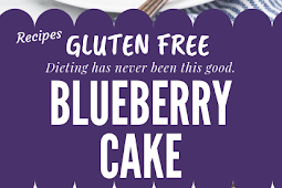 Blueberry Cake Gluten free #glutenfree