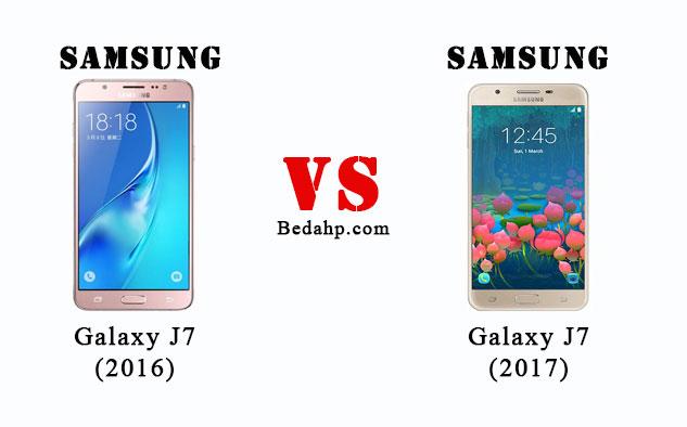 Perbedaan Samsung J7 (2017) VS J7 (2016)
