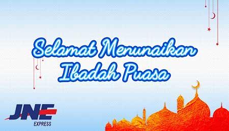 Jam Operasional JNE di Bulan Puasa 2017 Ramadhan 1438 H