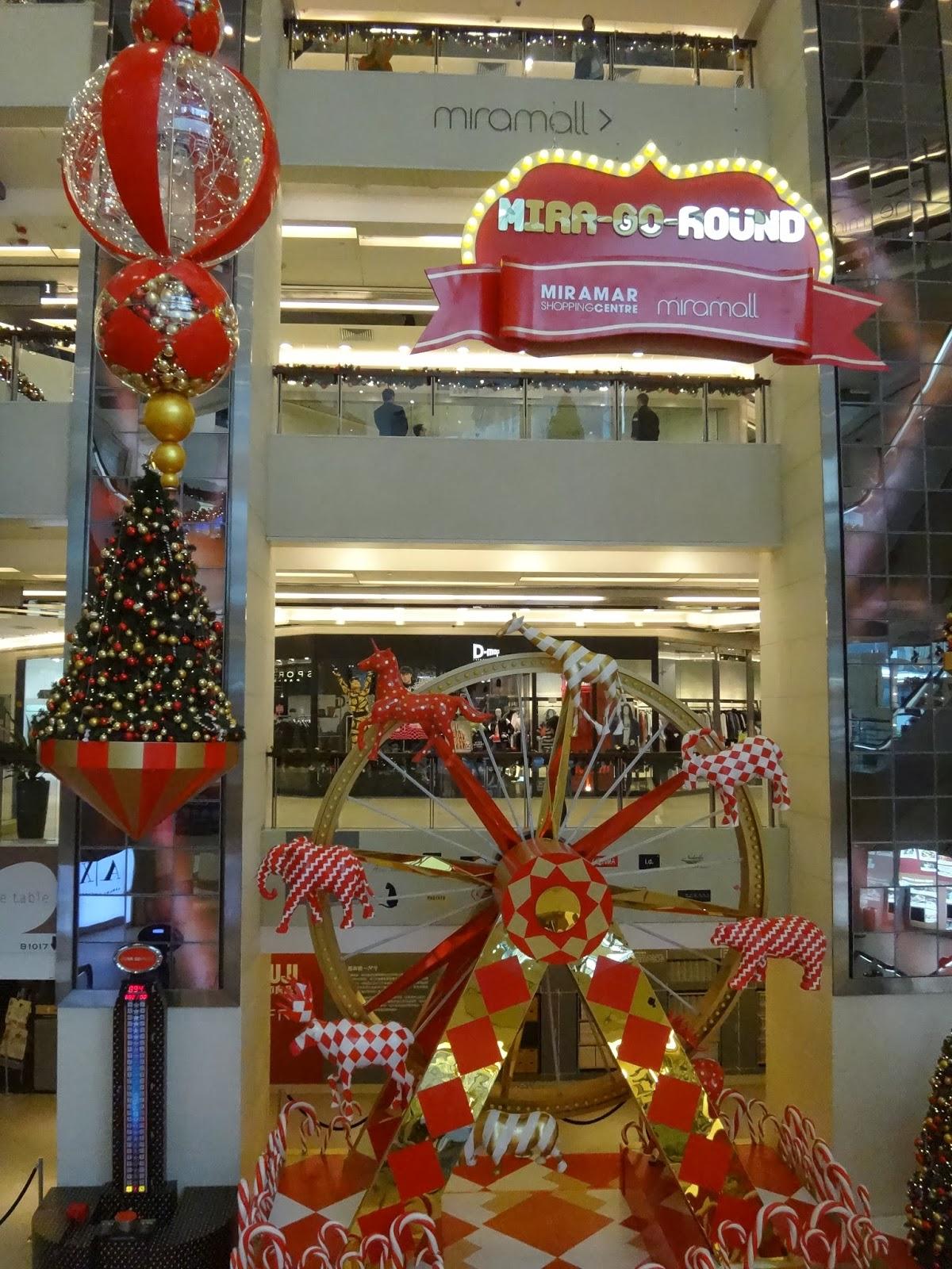 Soldier 的世界: 尖沙咀美麗華商場: 潮流幾何轉出快樂聖誕